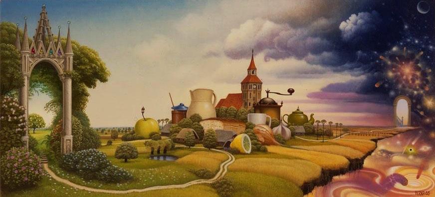 Dibujo 151 Jacek Yerka