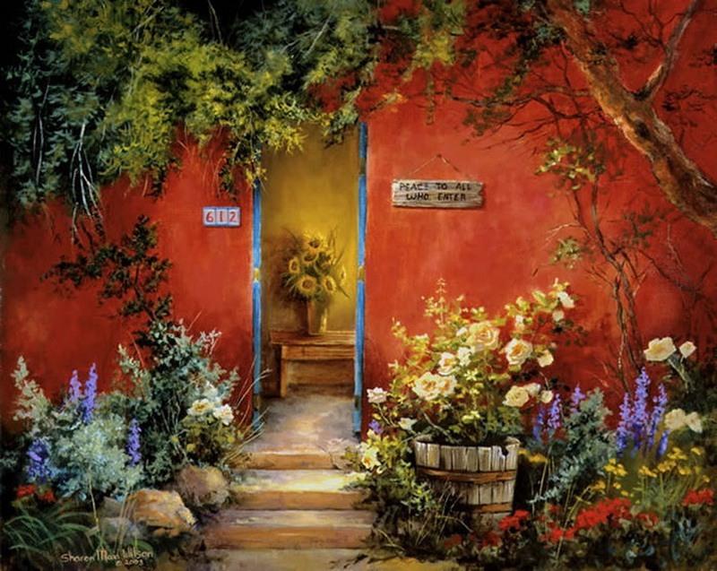 Sharon Maia Wilson - American painter (34)
