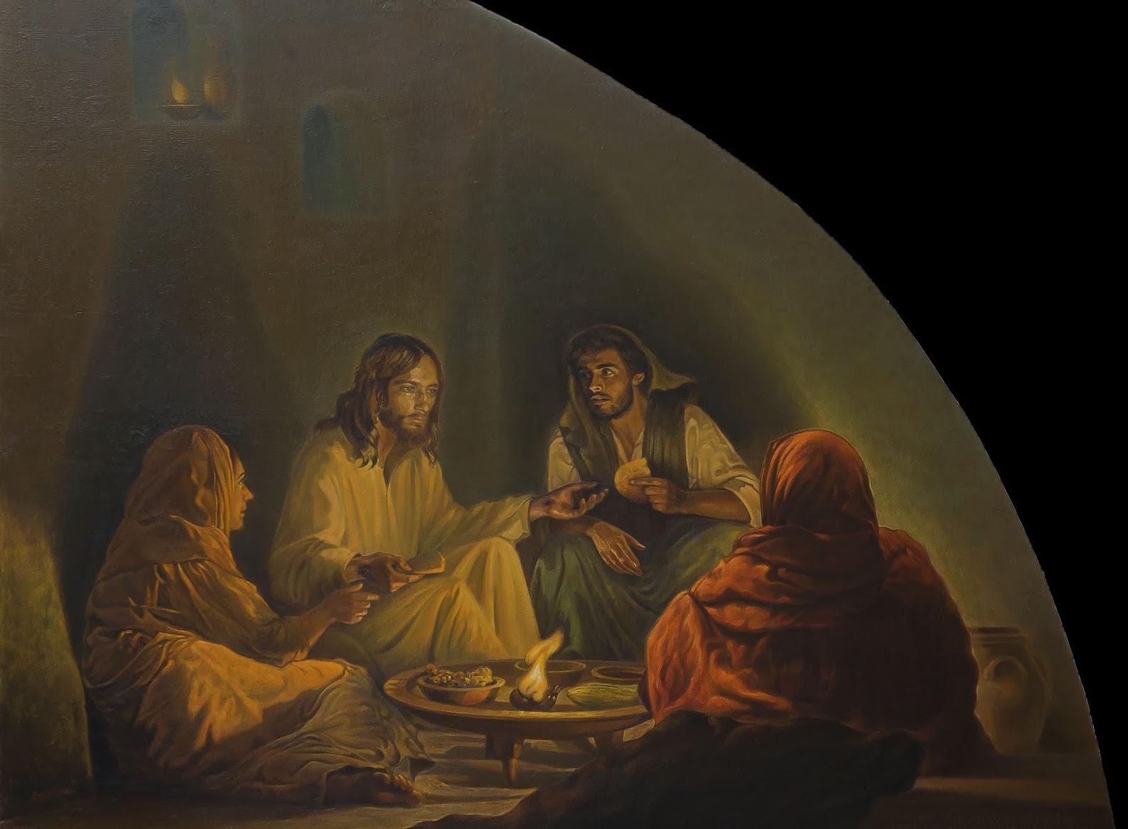 25-La cena de Emaús(cuadro terminado- copia