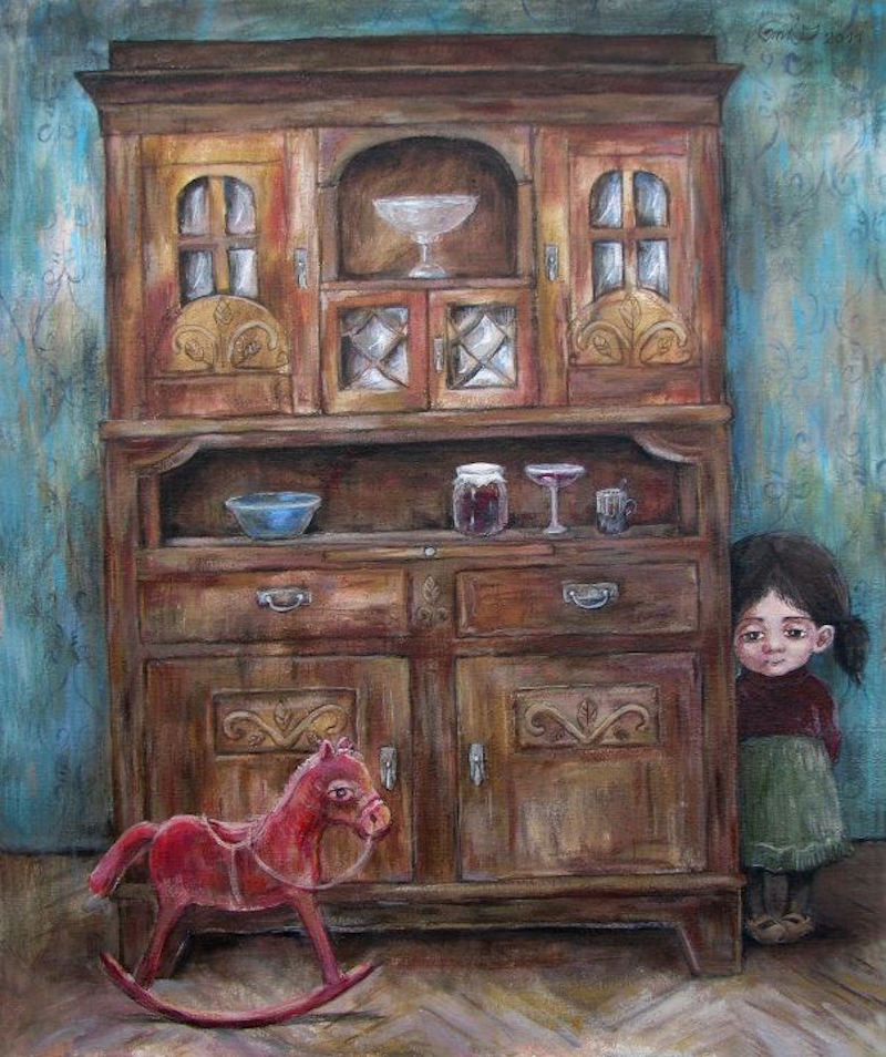 Nino Chakvetadze's Art 104